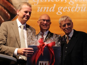 Major Dr. Ulrich Maly, Chairman Dr. Rainer Heimler and 2nd Chairman Dr. Hartmut Frommer